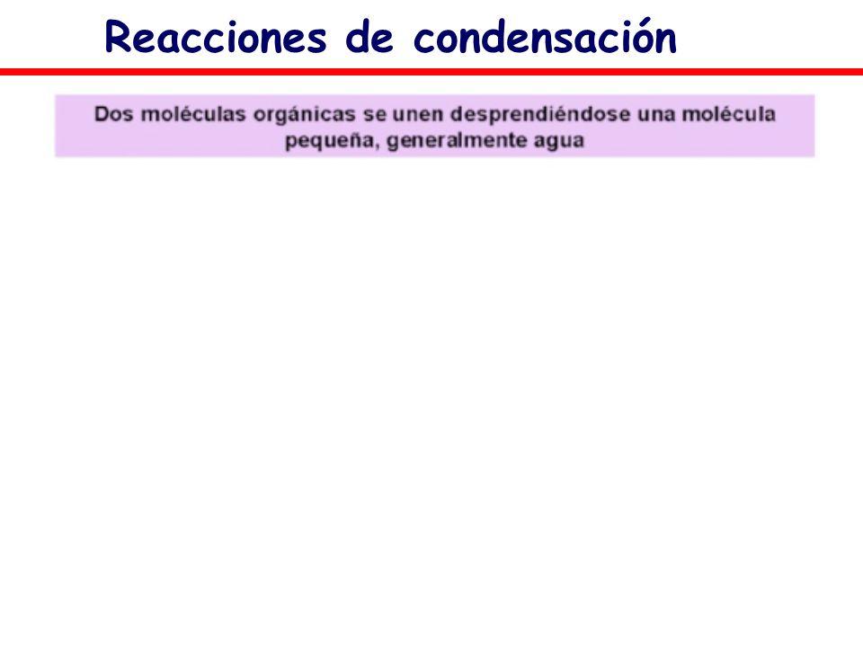 Reacciones de condensación