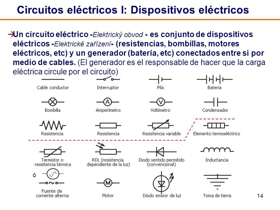 Circuitos eléctricos I: Dispositivos eléctricos