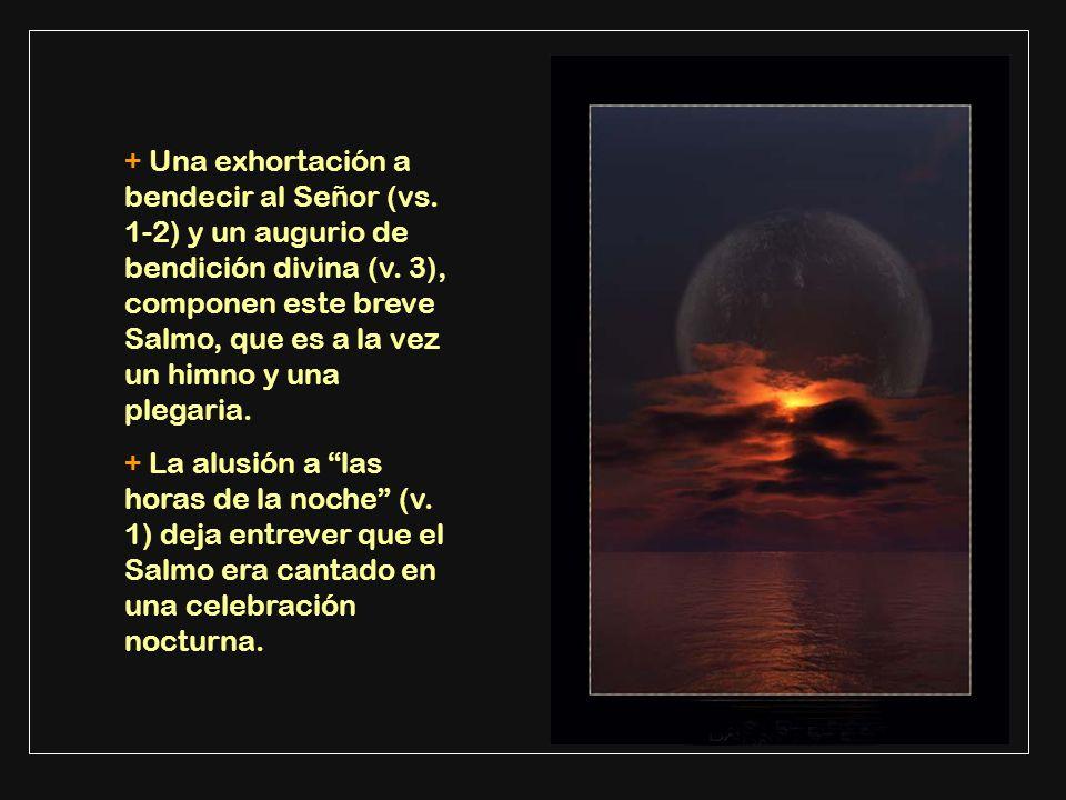 + Una exhortación a bendecir al Señor (vs