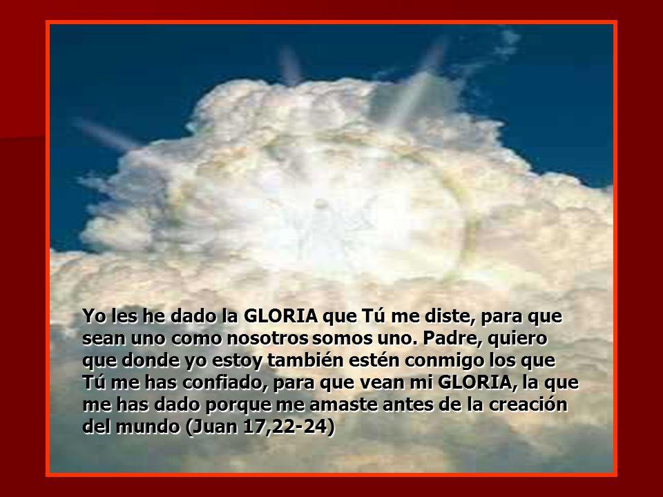 La gloria que la humanidad puede rendirle a Dios viene marcada por la filiación divina.