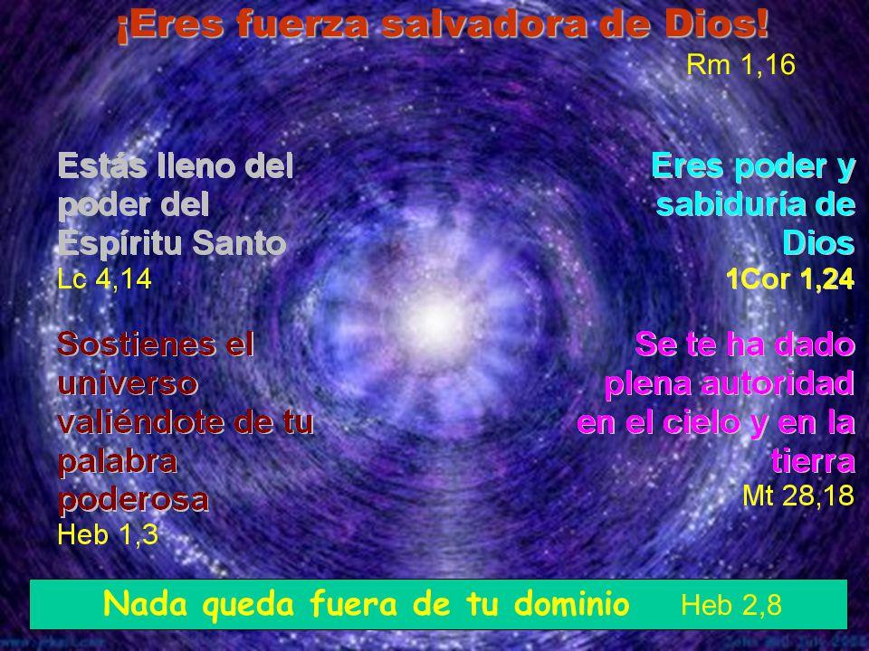 ¡Eres fuerza salvadora de Dios! Rm 1,16