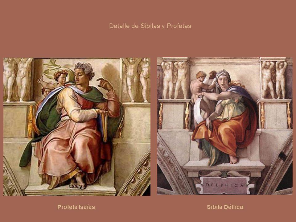 Detalle de Sibilas y Profetas