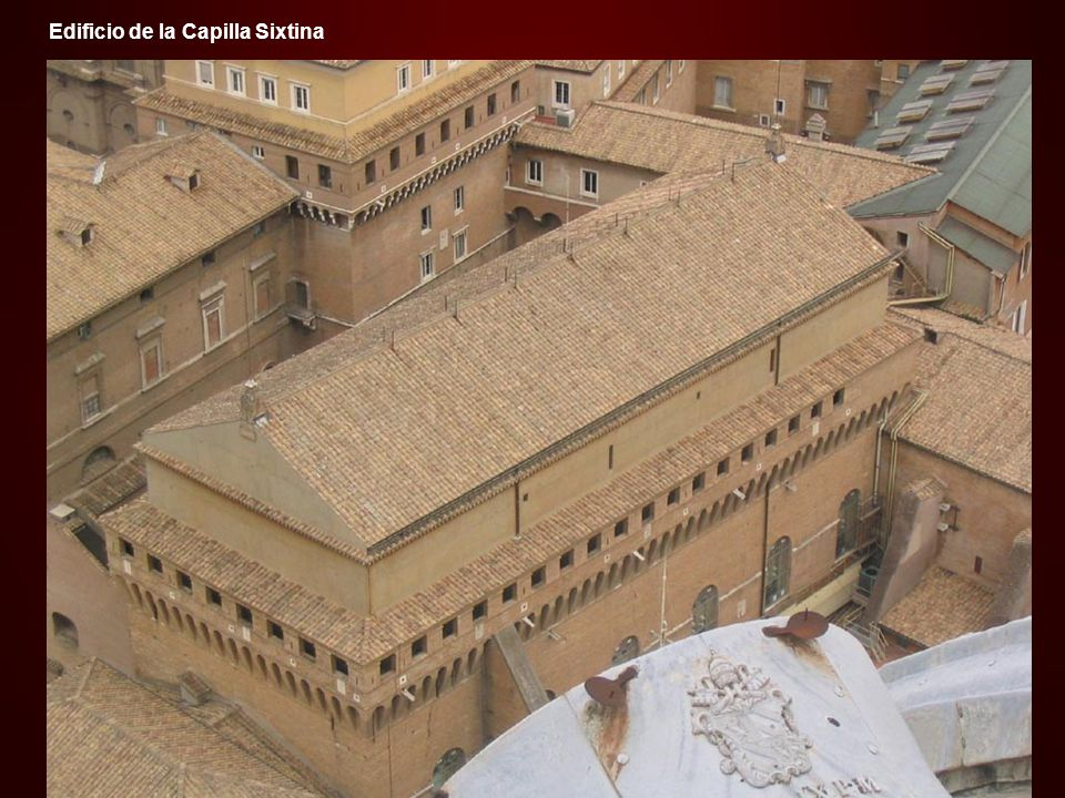 Edificio de la Capilla Sixtina