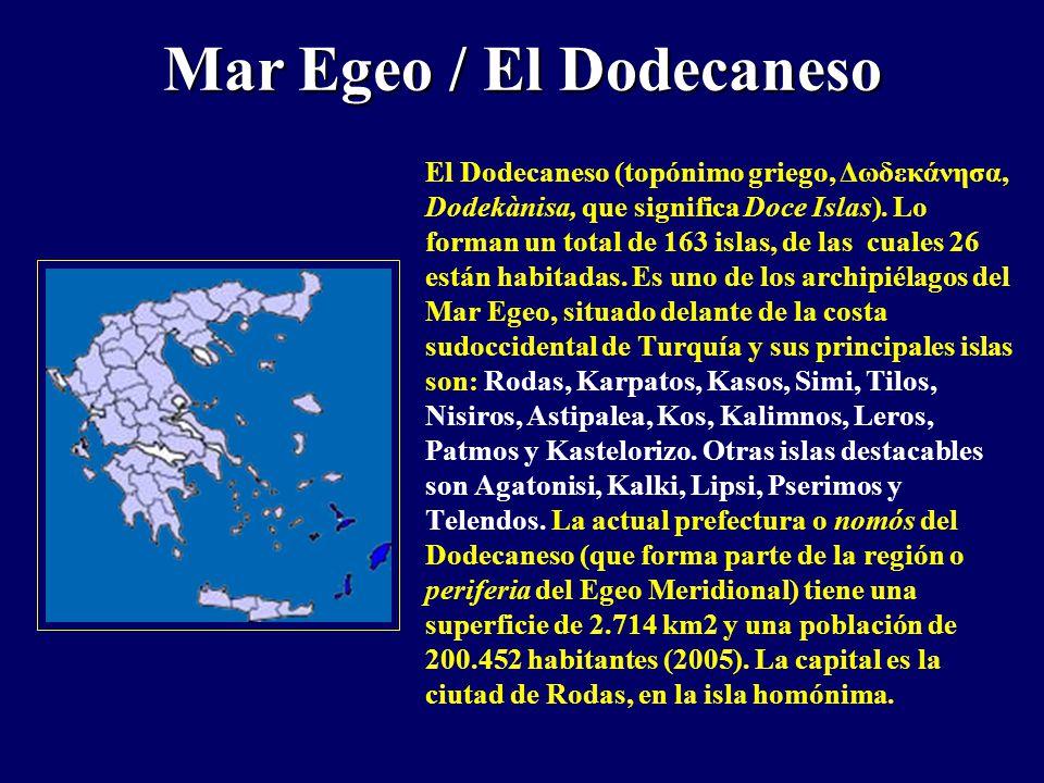 Mar Egeo / El Dodecaneso