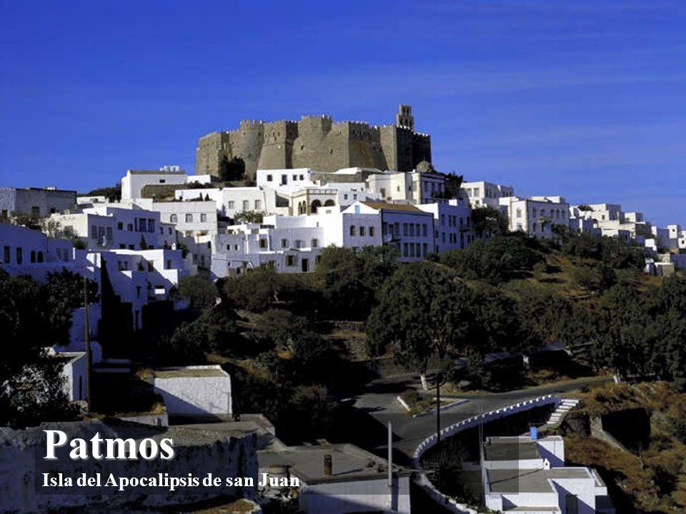 Patmos Isla del Apocalipsis de san Juan