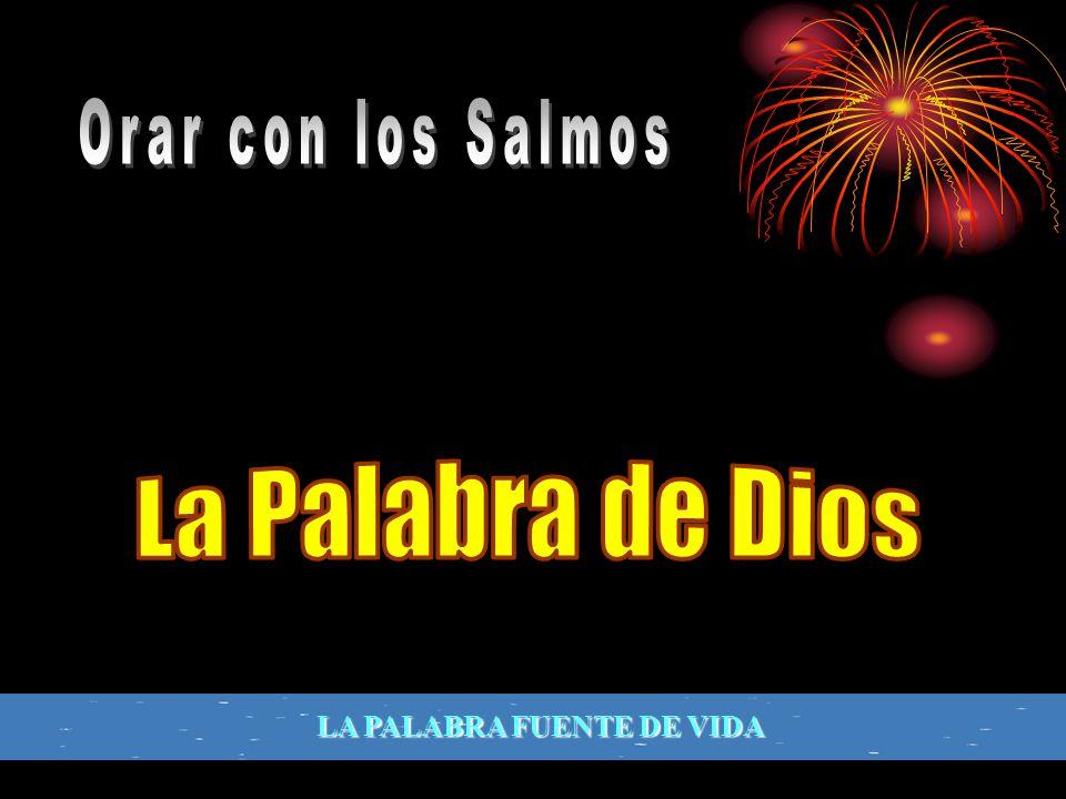 Orar con los Salmos La Palabra de Dios LA PALABRA FUENTE DE VIDA