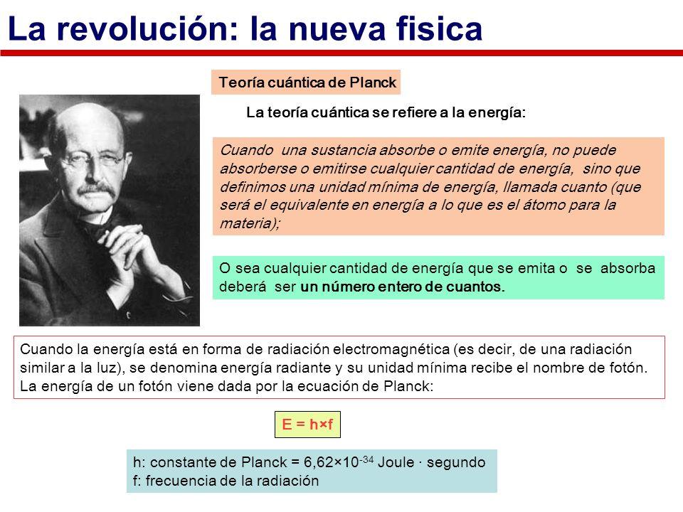 La revolución: la nueva fisica