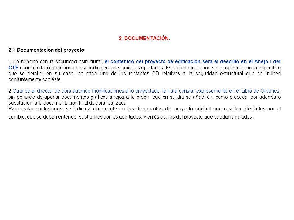 2. DOCUMENTACIÓN. 2.1 Documentación del proyecto.