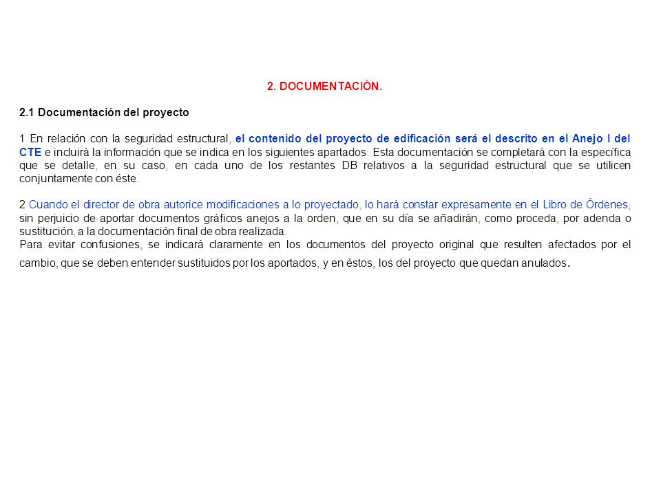 2. DOCUMENTACIÓN.2.1 Documentación del proyecto.