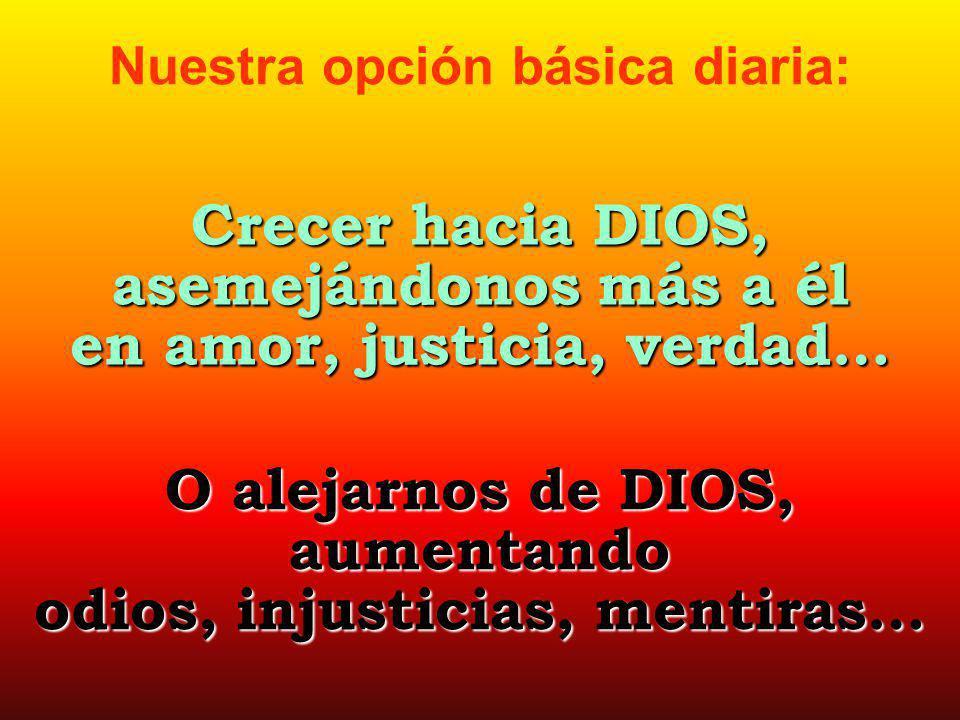 en amor, justicia, verdad…