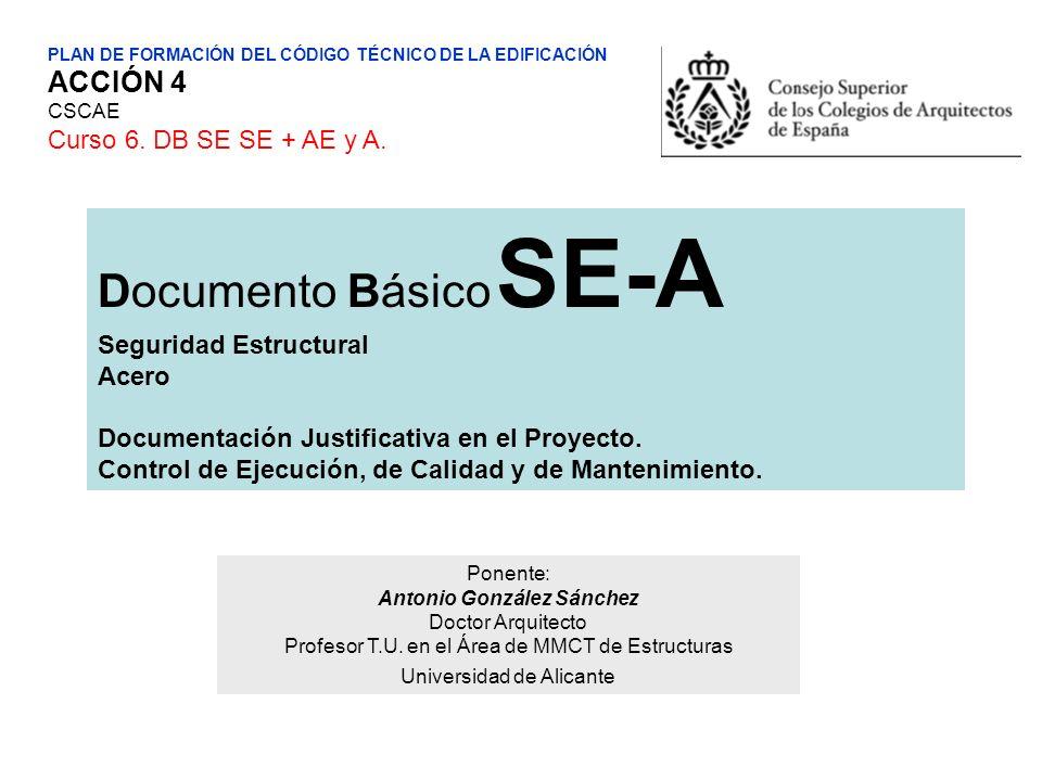 Documento Básico SE-A ACCIÓN 4 Curso 6. DB SE SE + AE y A.