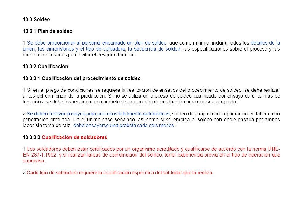 10.3 Soldeo10.3.1 Plan de soldeo.