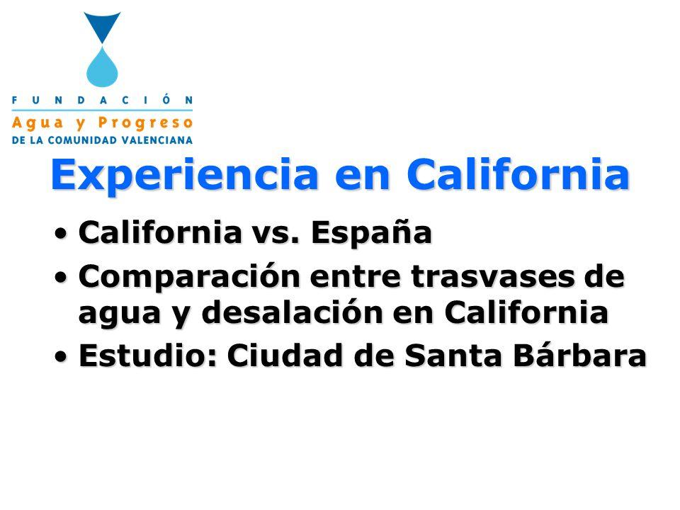 Experiencia en California