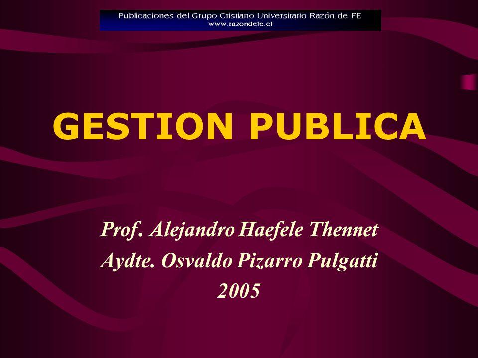 Prof. Alejandro Haefele Thennet Aydte. Osvaldo Pizarro Pulgatti 2005