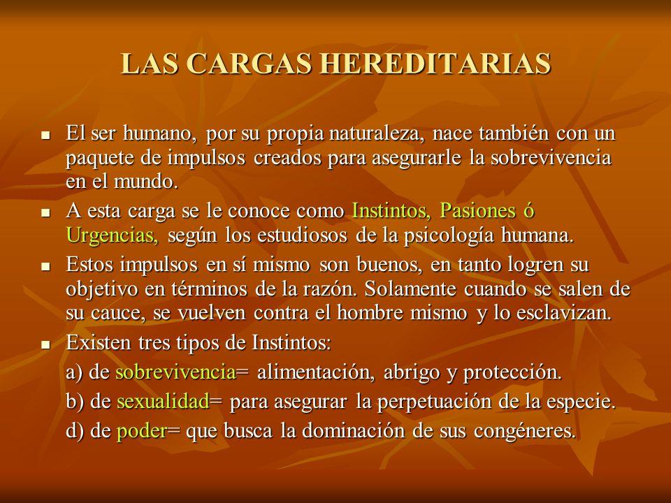 LAS CARGAS HEREDITARIAS