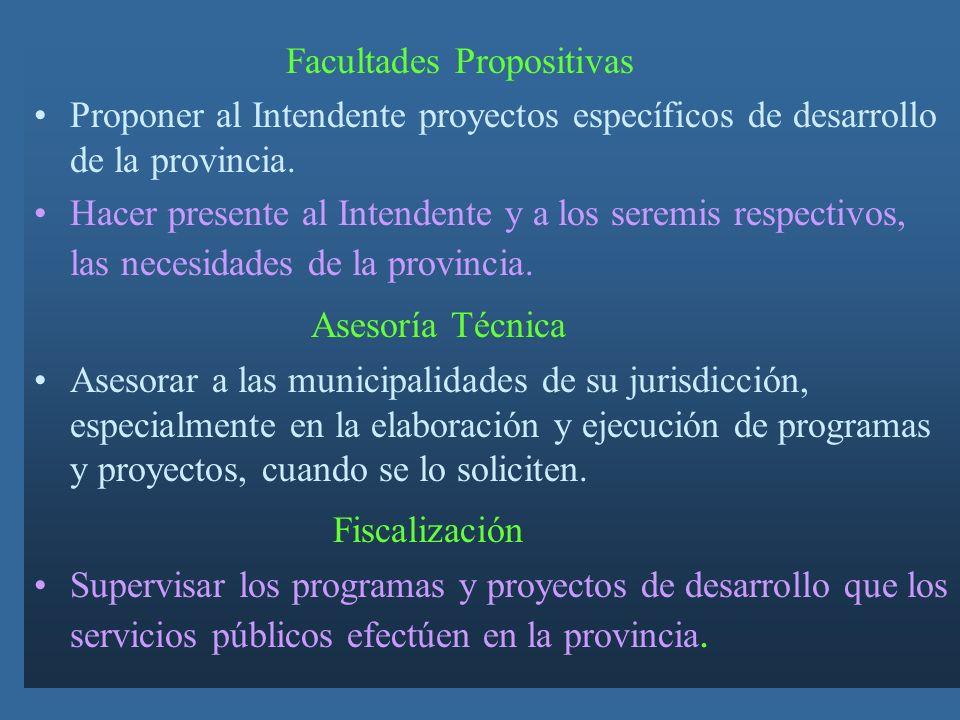 Asesoría Técnica Fiscalización Facultades Propositivas