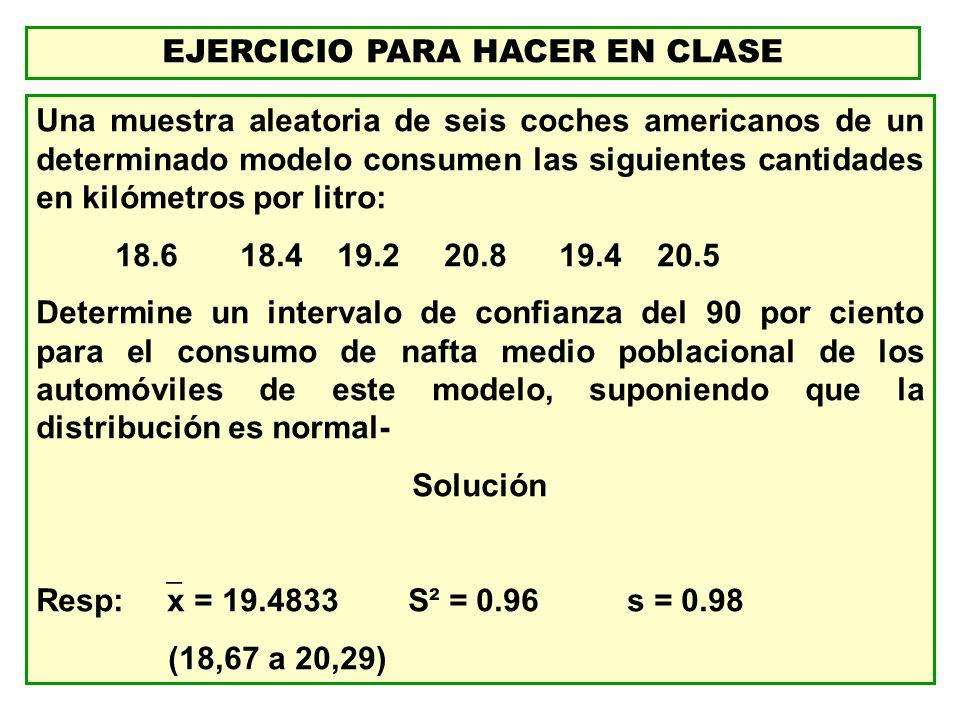 EJERCICIO PARA HACER EN CLASE