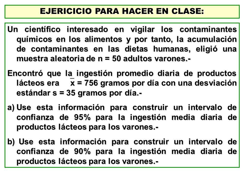 EJERICICIO PARA HACER EN CLASE: