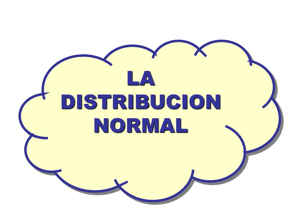 LA DISTRIBUCION NORMAL