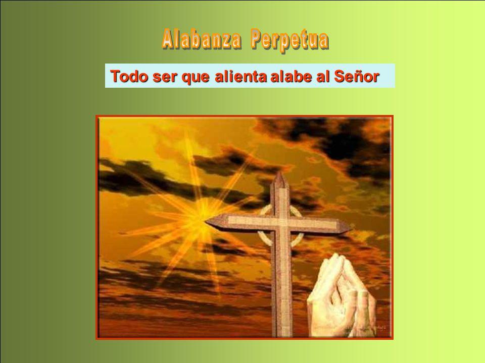 Alabanza Perpetua Todo ser que alienta alabe al Señor