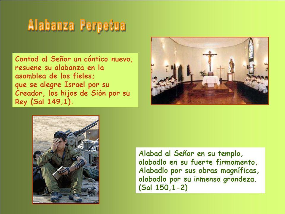 Alabanza Perpetua Cantad al Señor un cántico nuevo, resuene su alabanza en la asamblea de los fieles;