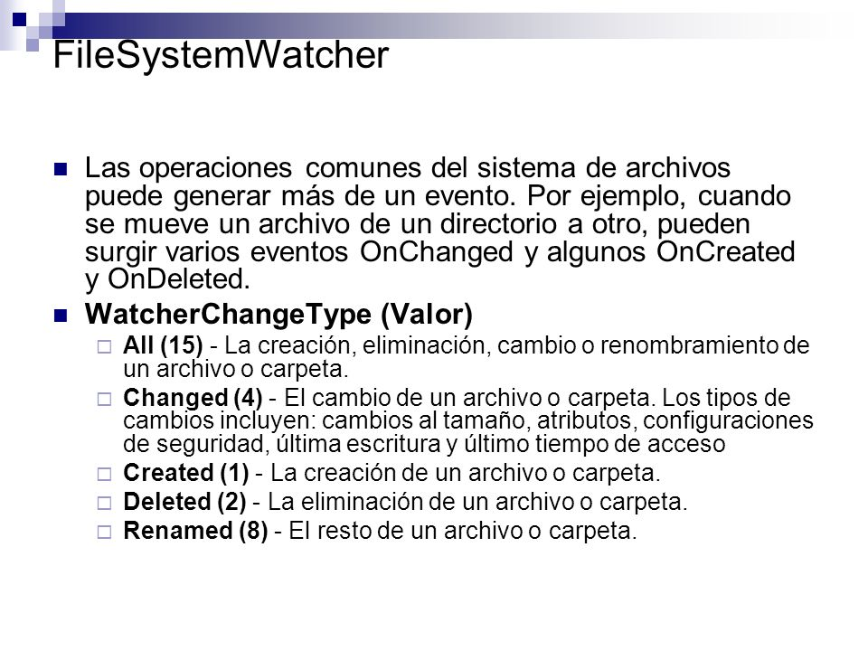 FileSystemWatcher