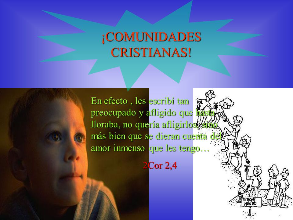 ¡COMUNIDADES CRISTIANAS!