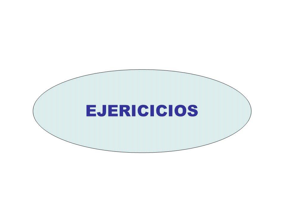 EJERICICIOS