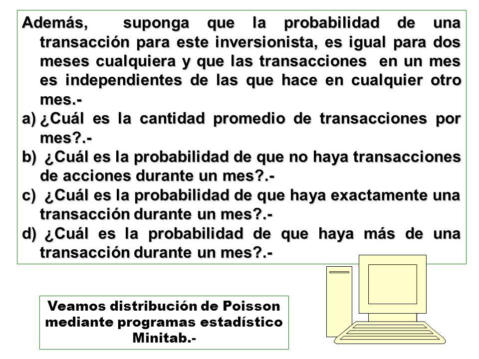 ¿Cuál es la cantidad promedio de transacciones por mes .-