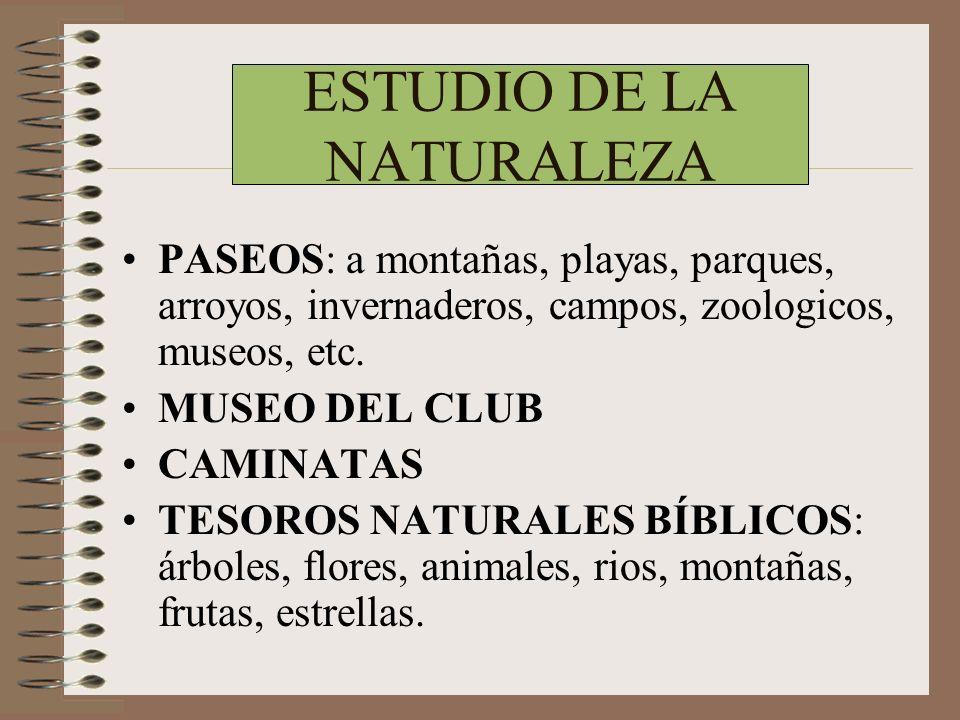 ESTUDIO DE LA NATURALEZA