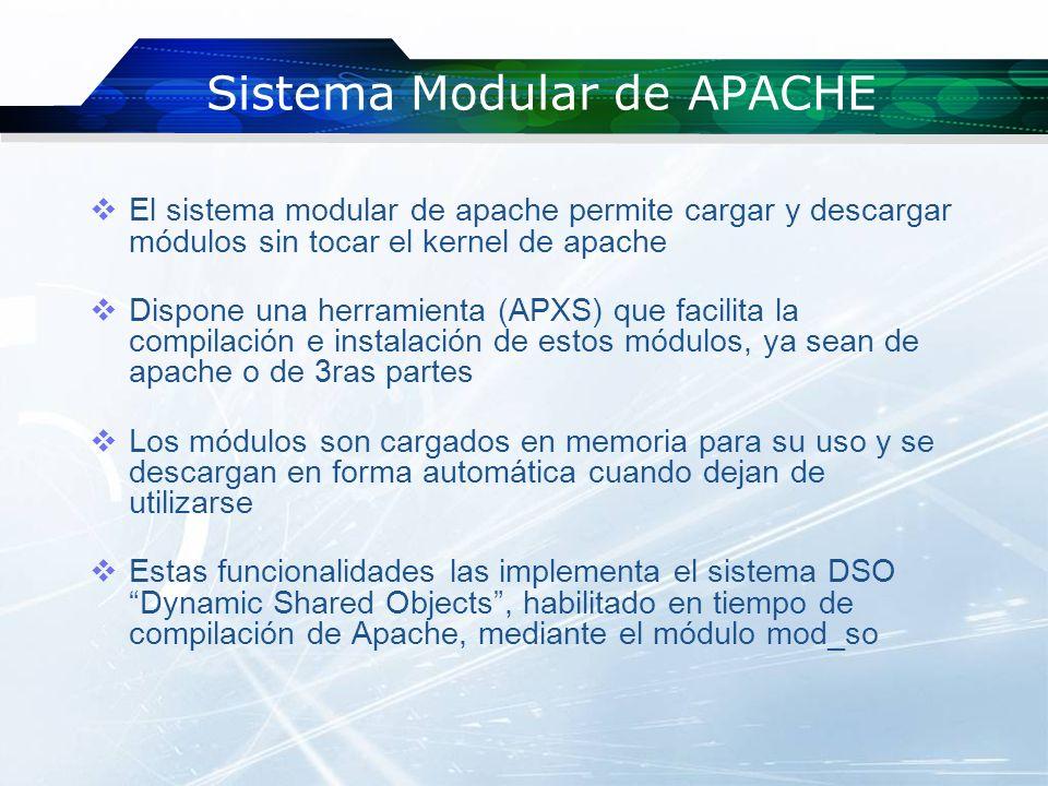 Sistema Modular de APACHE