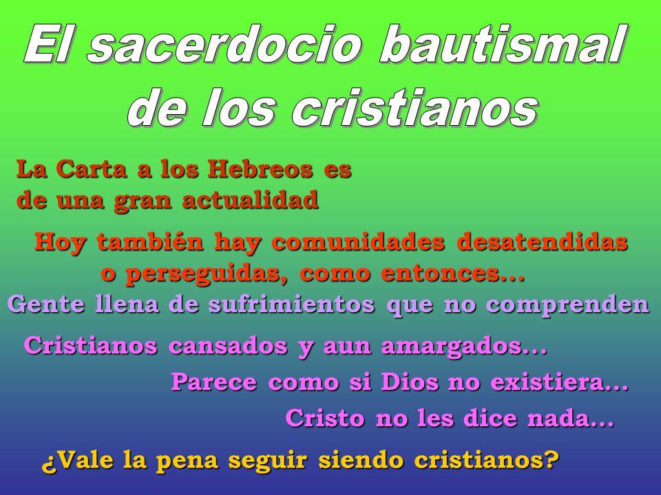 El sacerdocio bautismal
