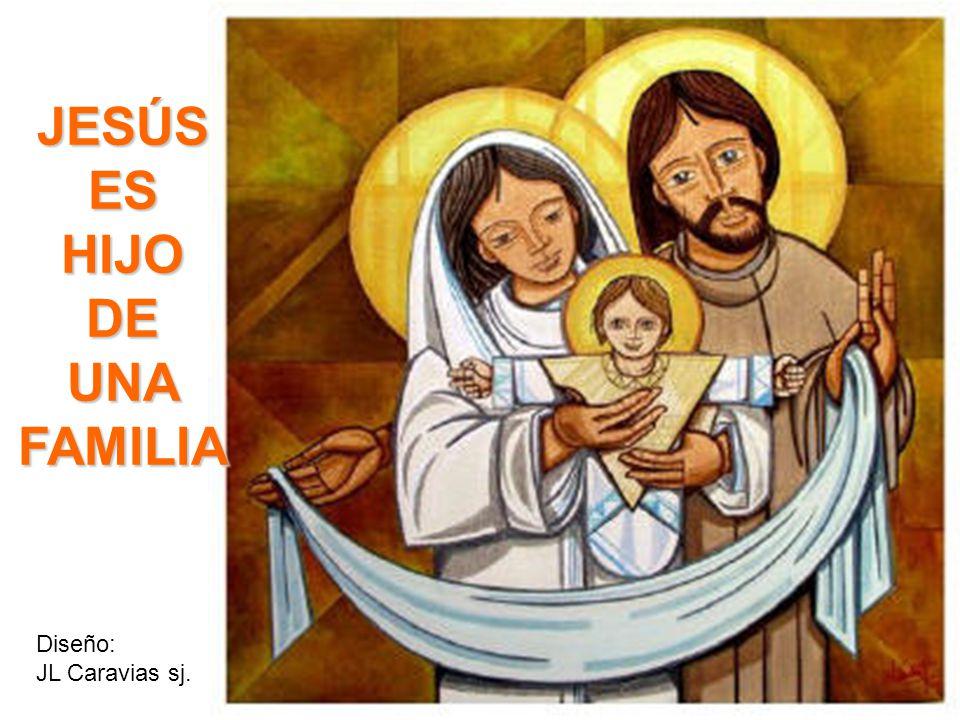 JESÚS ES HIJO DE UNA FAMILIA Diseño: JL Caravias sj.