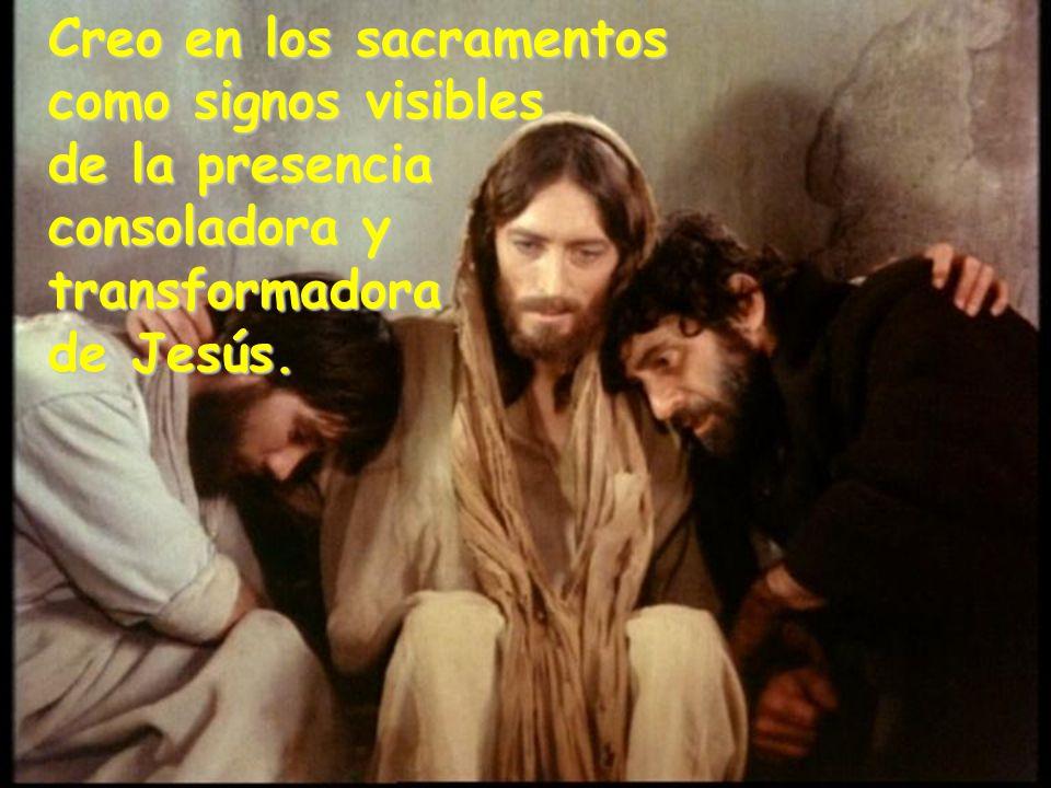 Creo en los sacramentos