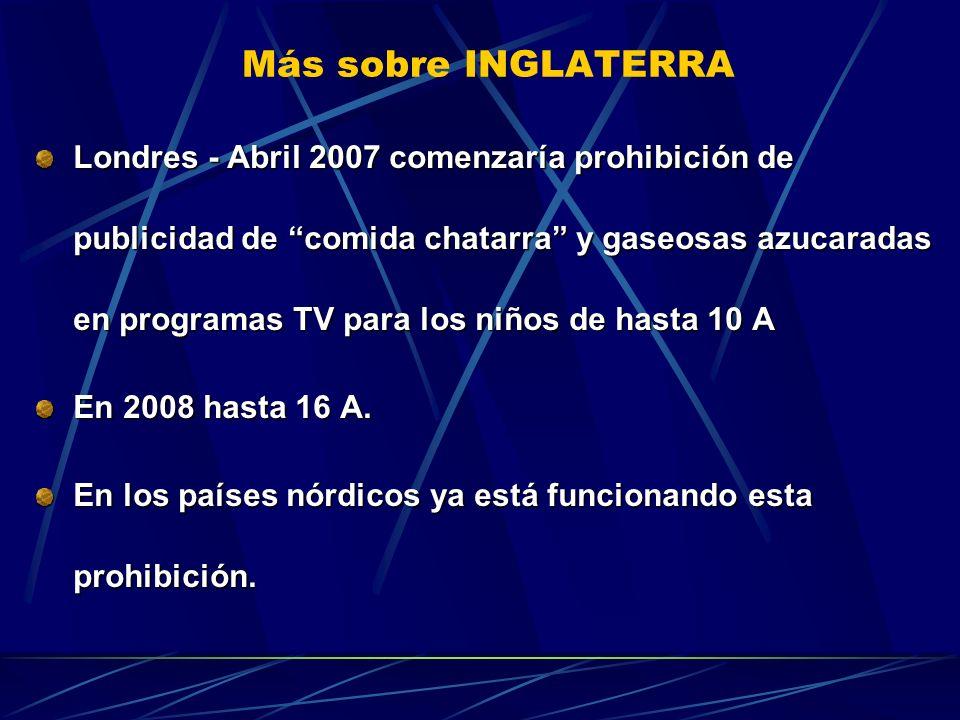 Más sobre INGLATERRA