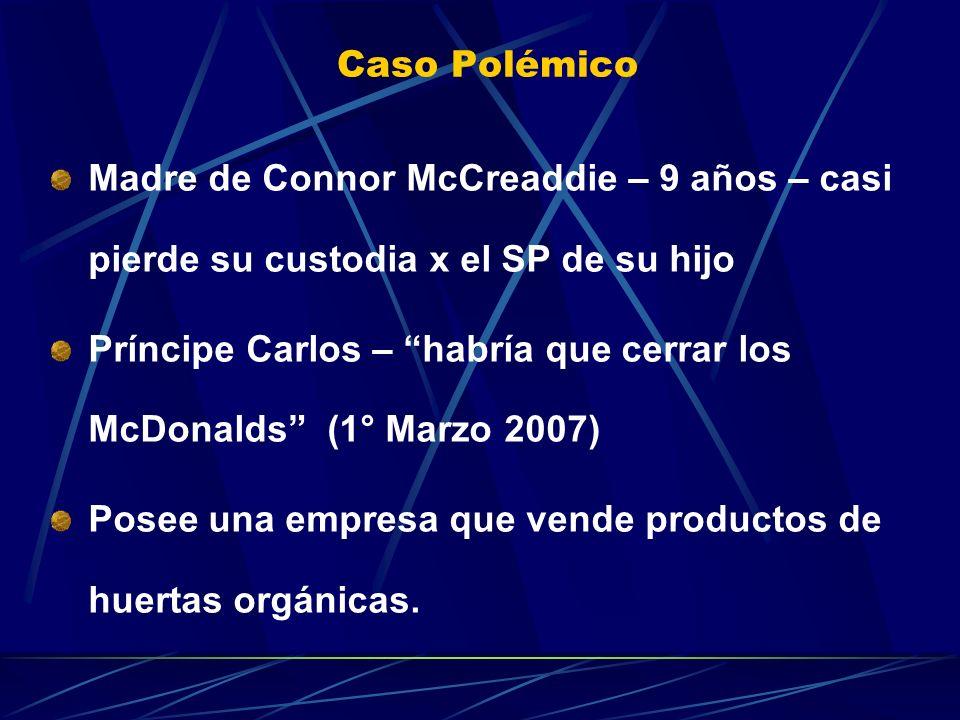 Caso Polémico Madre de Connor McCreaddie – 9 años – casi pierde su custodia x el SP de su hijo.