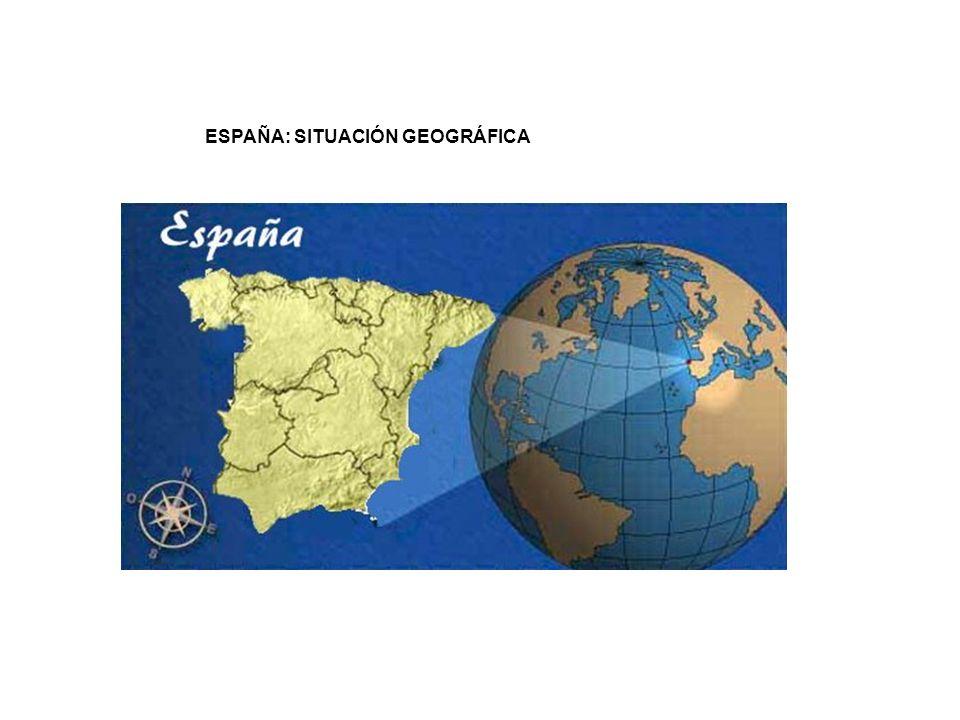 ESPAÑA: SITUACIÓN GEOGRÁFICA
