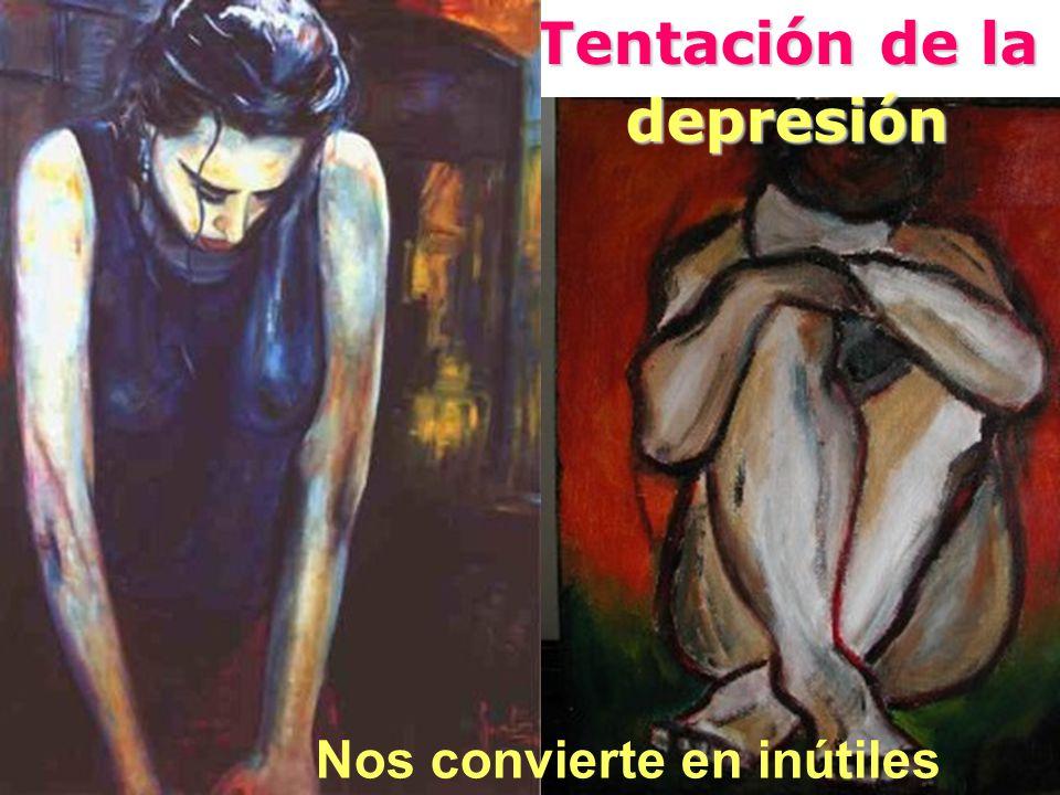 Tentación de la depresión