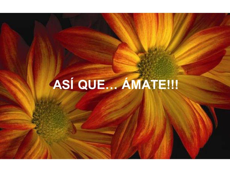 ASÍ QUE… ÁMATE!!!