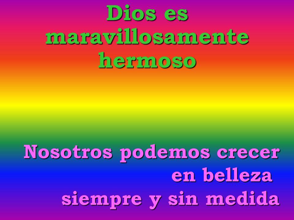 Dios es maravillosamente