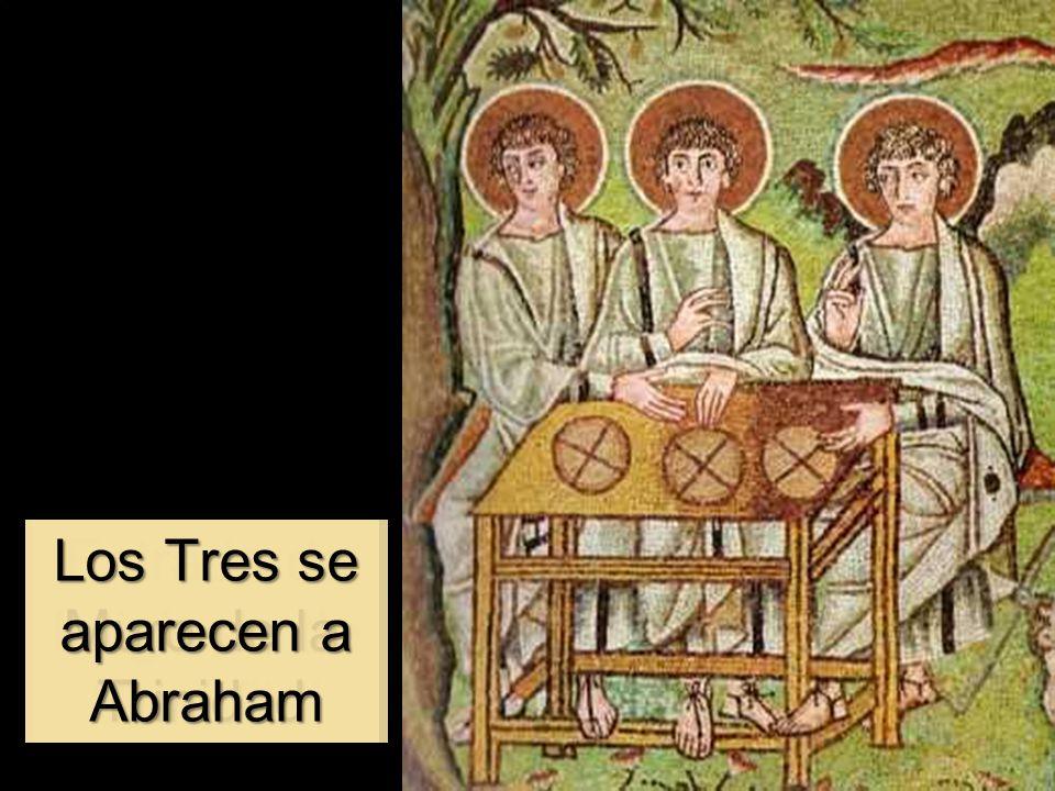 Los Tres se aparecen a Abraham Muro de la Trinidad