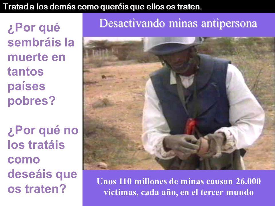 Desactivando minas antipersona