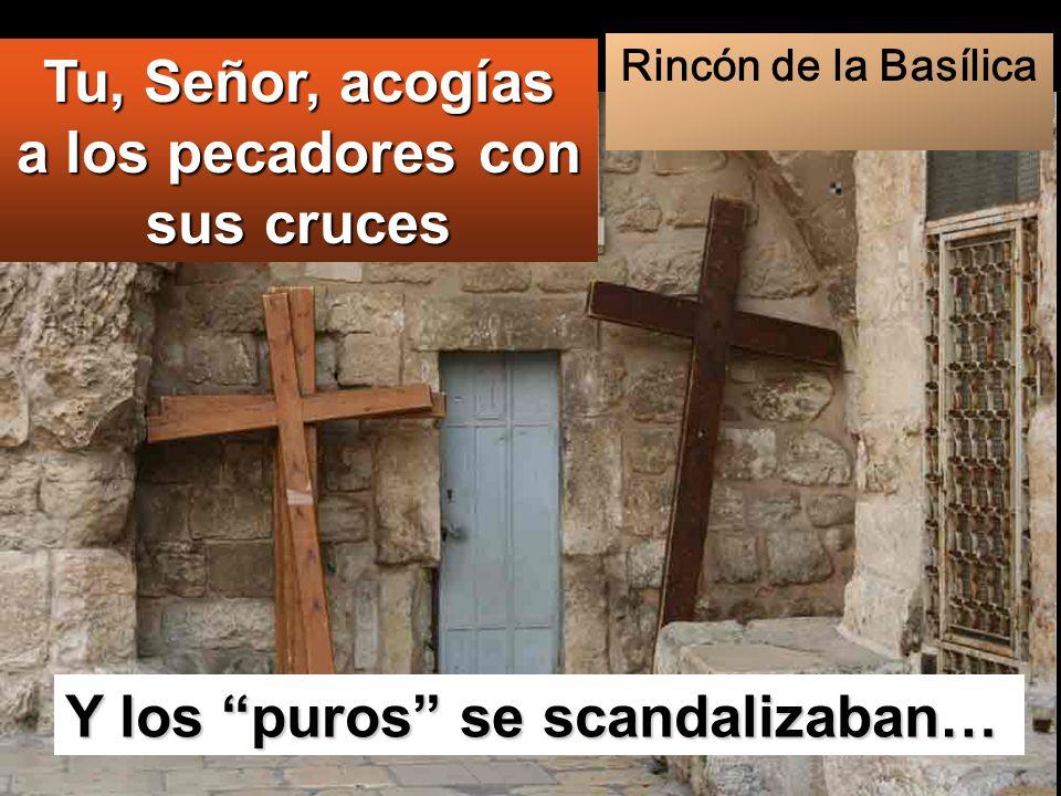 Tu, Señor, acogías a los pecadores con sus cruces
