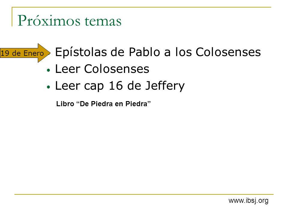 Próximos temas Epístolas de Pablo a los Colosenses Leer Colosenses