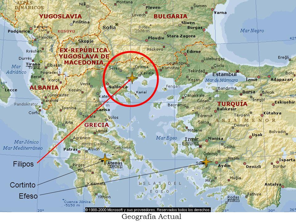 Filipos Cortinto Efeso Geografía Actual