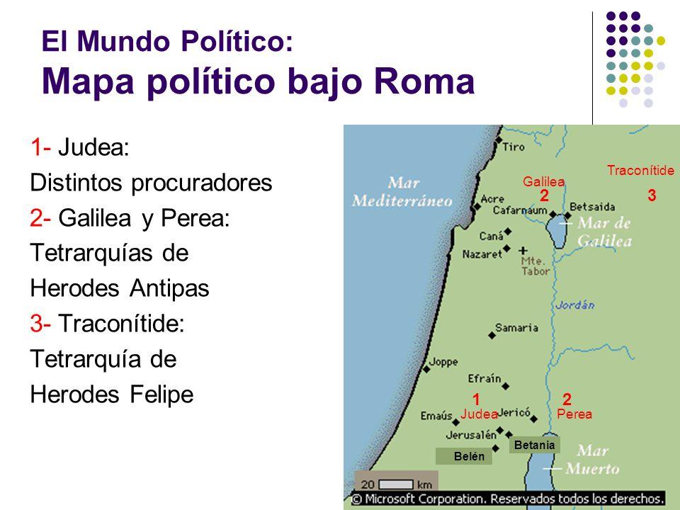 El Mundo Político: Mapa político bajo Roma