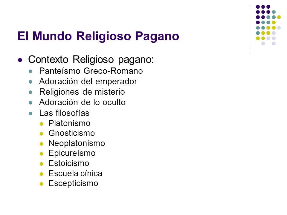 El Mundo Religioso Pagano