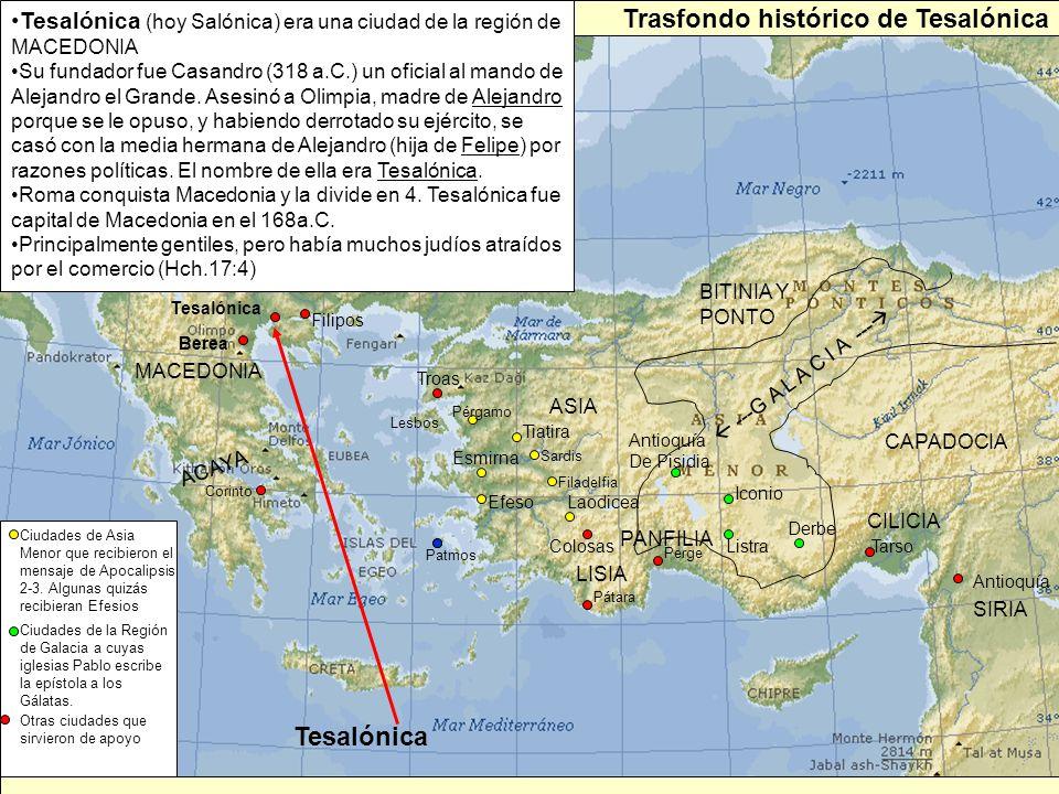 Trasfondo histórico de Tesalónica