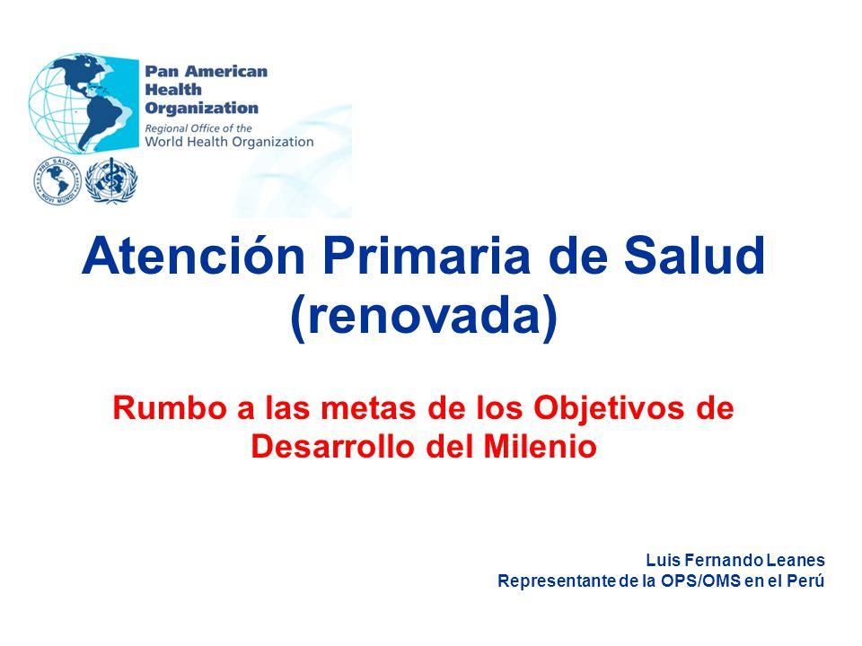 Atención Primaria de Salud (renovada)