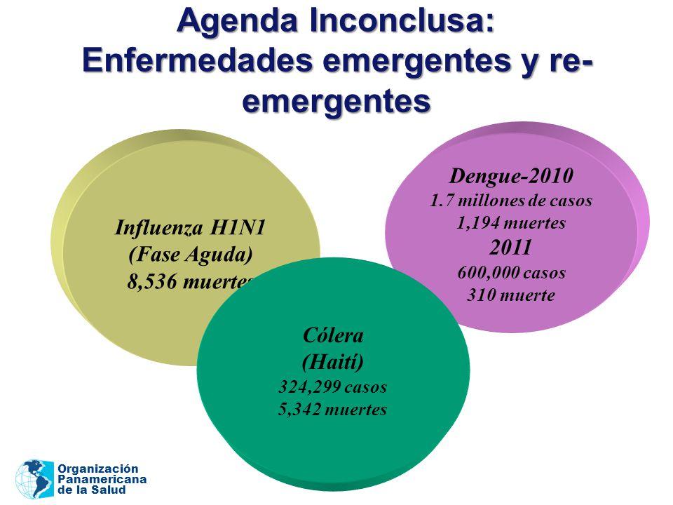 Agenda Inconclusa: Enfermedades emergentes y re-emergentes